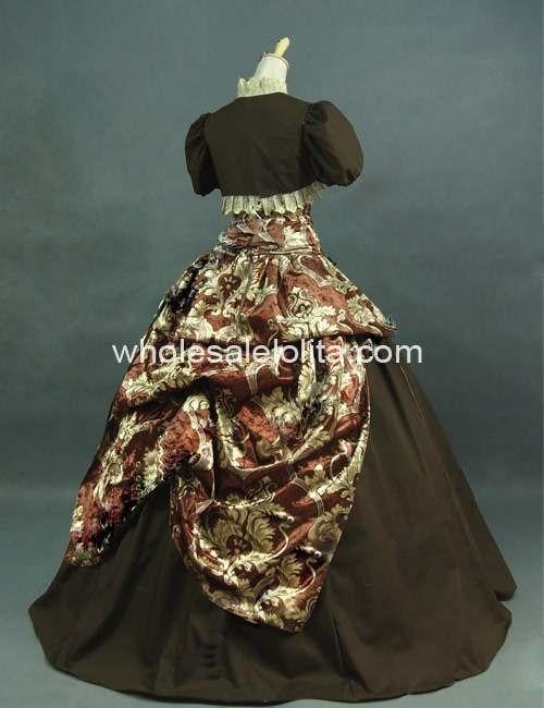 Викторианский армейский зеленый и бежевый королевский корсет принцесса Суета бальное платье театральное платье