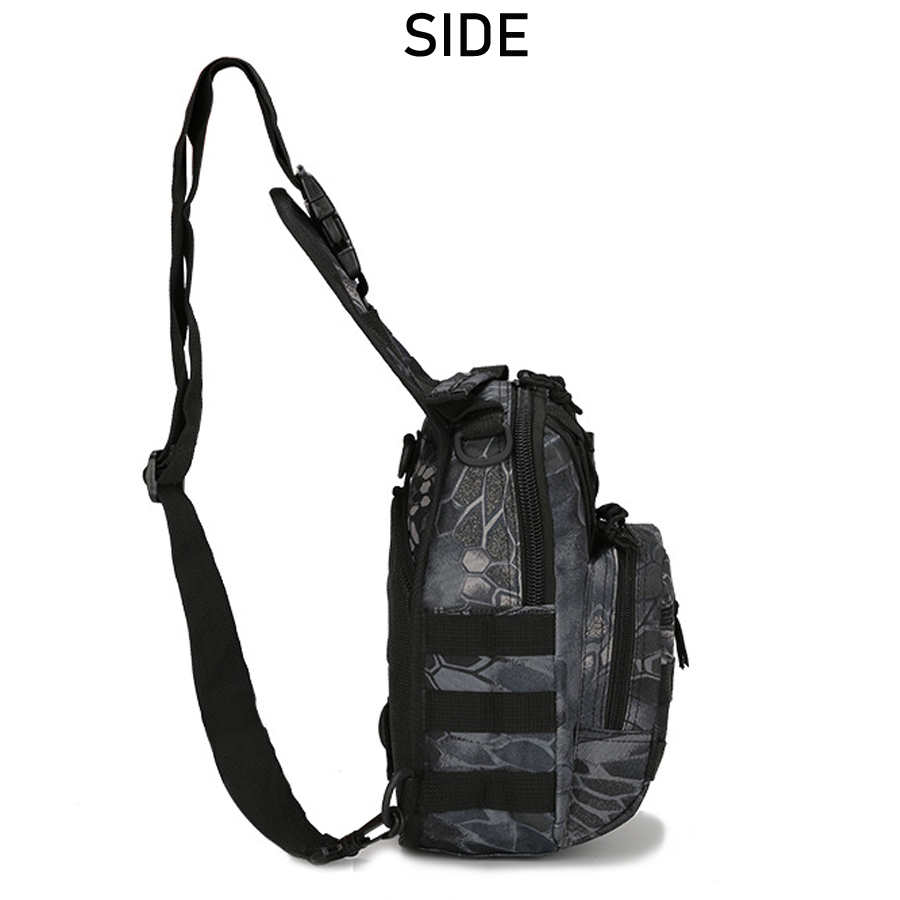 Tactical Bag Shoulder Molle Black (19)