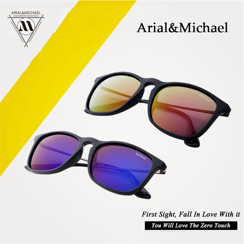 Arial Michael Orignal Sunglasses classic men and women couple models ultra light UV Comfortable Sunglasses Hot
