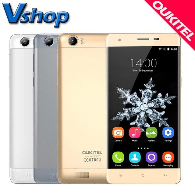 Original OUKITEL K6000 4G Mobile Phones Android 5.1 2GB RAM 16GB ROM Quad Core 6000mAh Big Battery 5.5 inch Dual SIM Cell Phone