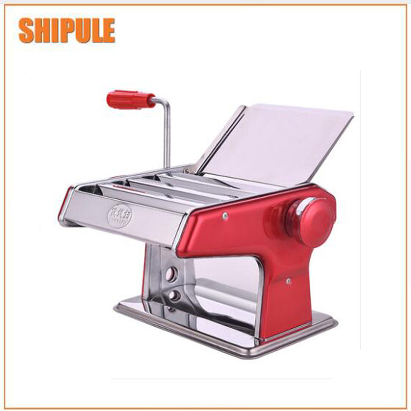 Stainless steel manual pasta noodle machine dumpling skin maker noodle press pasta machines pasta cutter slicers jiqi household hand noddles pasta maker machine stainless steel manual noodle press making noodle cutting machine 0 5mm 2 5mm