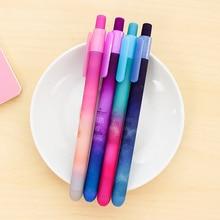 4 pcs Dream star gel pen 0.5mm roller ball black ink pen Stationery Office accessories School supplies caneta escolar EB585