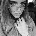 2016 Óculos de Moda Com Lentes Claras Subiu Ouro Armação dos óculos Mulheres Computador Óculos Mens Óculos lunettes de vue Ouro do vintage