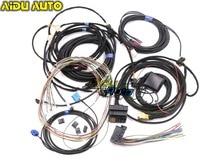 Audi için A4 B8 A5 B8 Q5 8R Güncelleme YÜKSELTME kurulum MMI Sistemi Tel kablo Demeti ve gps anten ve Mikrofon