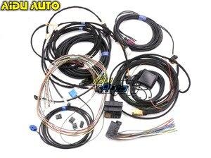 Image 1 - Audi için A4 B8 A5 B8 Q5 8R Güncelleme YÜKSELTME kurulum MMI Sistemi Tel kablo Demeti ve gps anten ve Mikrofon