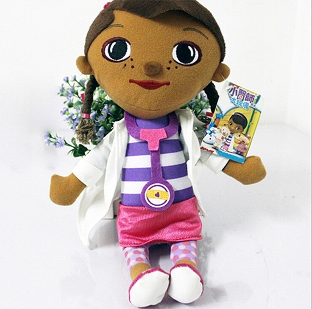 kawaii doc mcstuffins clinic soft plush stuffed toy kid girl christmas gifts lovely doctors girls toys