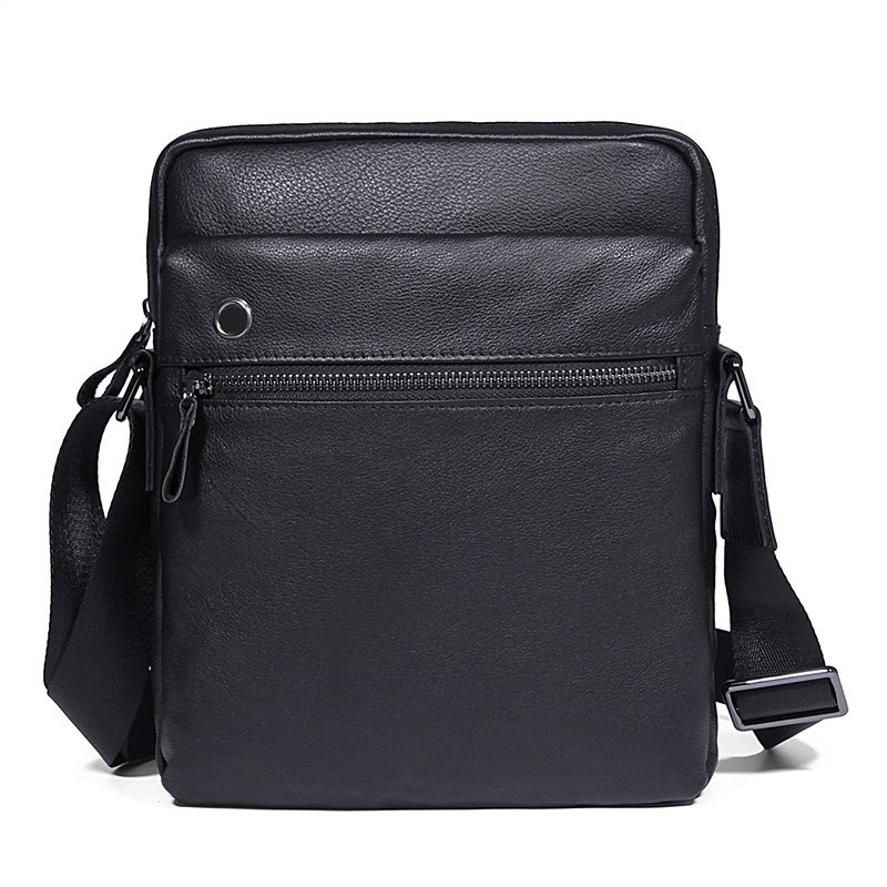 Men High Quality Real Cow Leather Single Shoulder Sling Bag for Men Crossbody Travel Business Black Flap Messenger Vintage Bag jason tutu promotions men shoulder bags leisure travel black small bag crossbody messenger bag men leather high quality b206