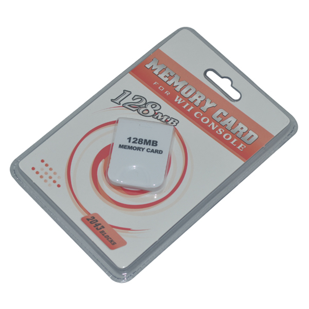 100PCS Top-selling Practical Game 128MB Memory Card for Nintendo for Wii for Gamecube for GC Game System Console game 128M save