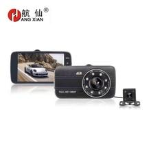 цена на HANGXIAN 4 Full HD 1080P Driving Recorder Night Vision wide-angle Car DVR supports TF card Car Camera Digital Video Recorder