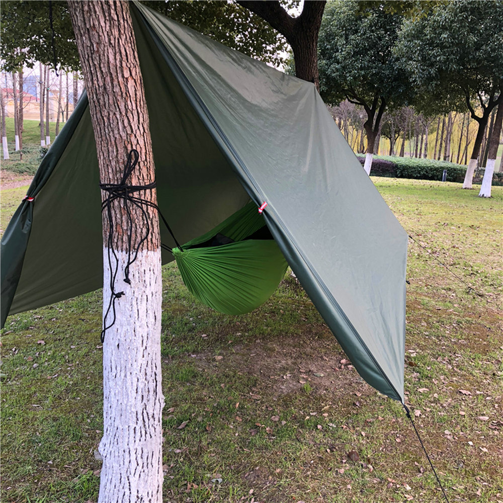 OUTAD Waterproof Camping Tarp for Picnics Tent Footprint and Sunshade#ZY