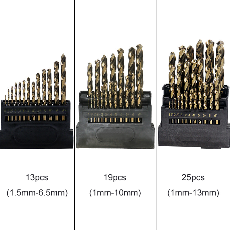 Image 2 - M42 HSS Twist Drill Bit Set for Metal Contain 8% High Cobalt Copper Iron Aluminum Wood Stainless Steel Drilling Core drill  Bits-in Drill Bits from Tools