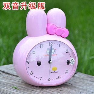 Children kids creative cute cartoon style silent mute desk table snooze function alarm clocks for gifts and crafts
