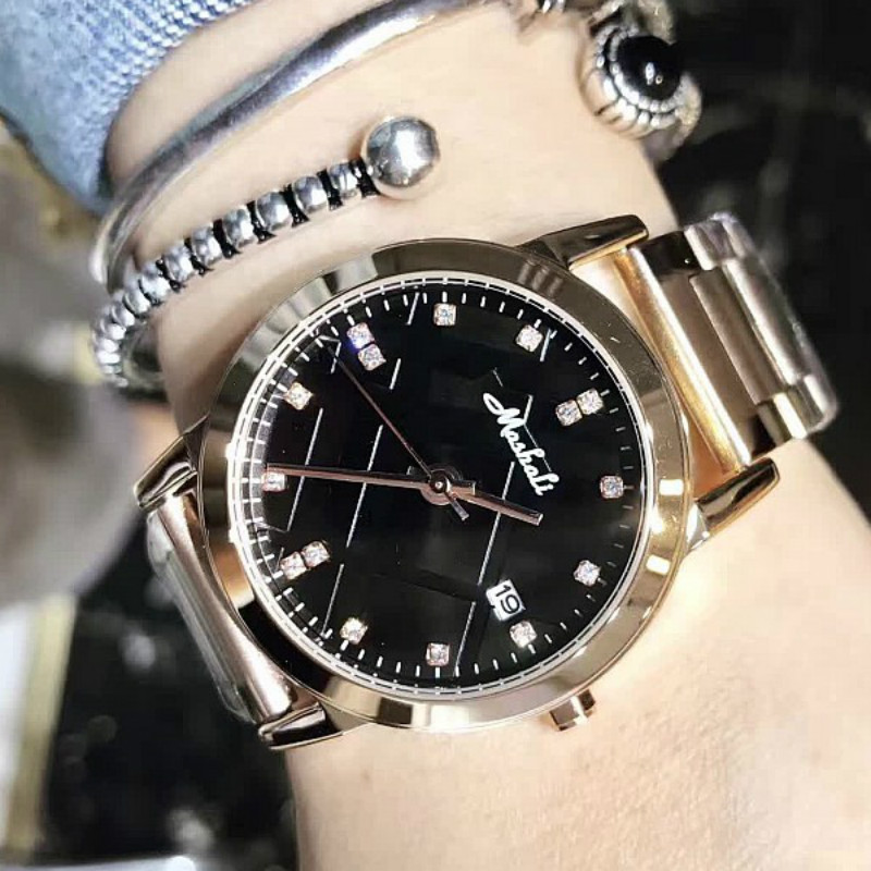 Luxury Rose gold Crystal Rhinestone Ladies Quartz Watch Fashion Female Simple Clock Women Watches Relogio Feminino reloj mujer top ochstin brand luxury watches women 2017 new fashion quartz watch relogio feminino clock ladies dress reloj mujer