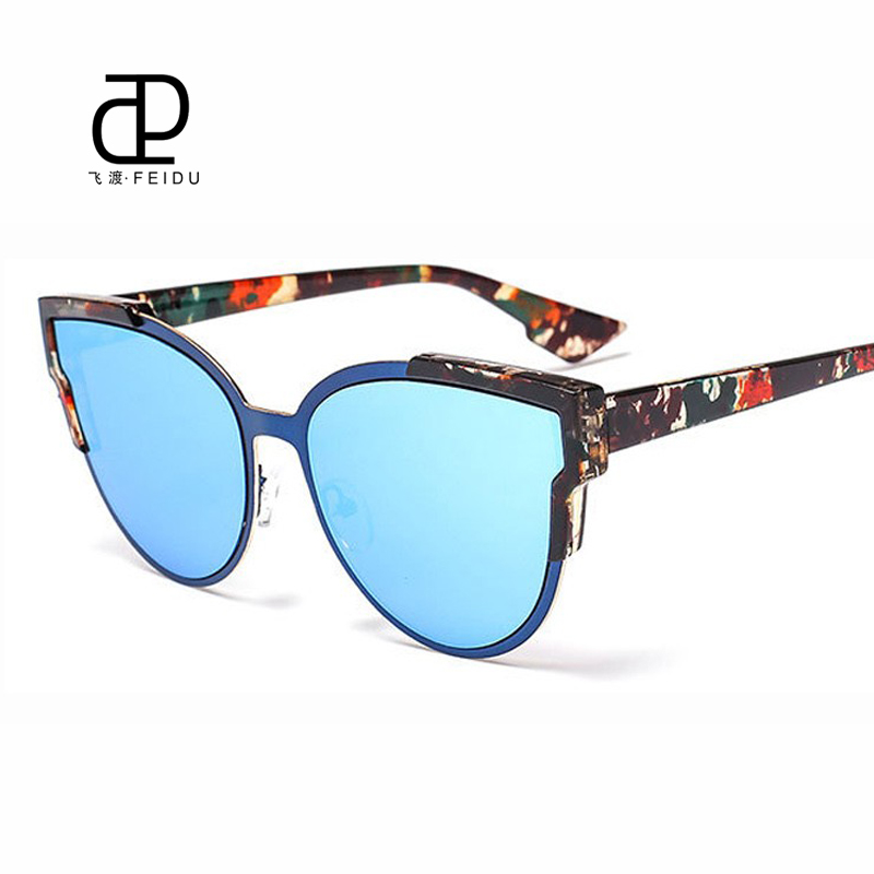 FEIDU Fashion Sunglasses Brand Designer Women Sunglasses ...