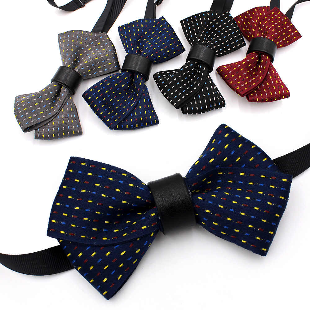 b543c8be1c8ea Elegant Adult Child Unisex Neck Collar Shirt Bow Tie Handmade Groom ...