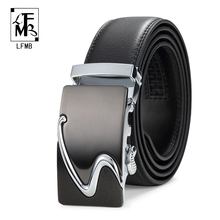 2016 Famous Brand Belt Men Top Quality Genuine Luxury Leather Belts for Men,Strap Male Metal Automatic Buckle(China (Mainland))