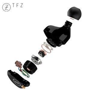 Image 4 - Tfz t2 다이나믹 드라이버 하이브리드 이어폰 이어폰 hifi dj 모니터 이어 버드 이어폰 분리형 2pin 0.78mm s2 에어 킹 no. 3 t3 퀸