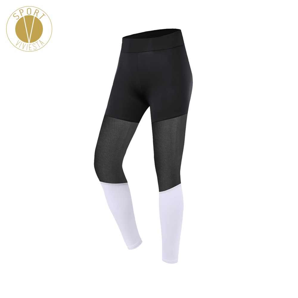 254ffdb7a9205 Detail Feedback Questions about Bi tone Mesh Sports Leggings Women's  Ladies' Yoga Gym Fitness Workout Leisure Active Sexy Sheer Long Stretch 7/8  Tights ...