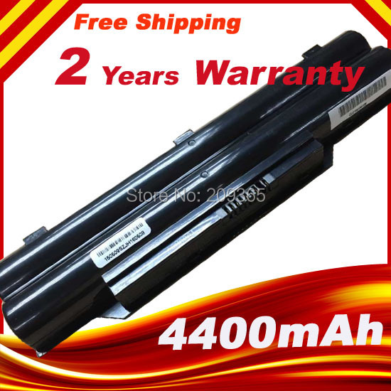 6 Cell FPCBP331 FPCBP347AP Laptop Battery For Fujitsu Lifebook A532 AH532 AH532/GFX FMVNBP213 P567717-01