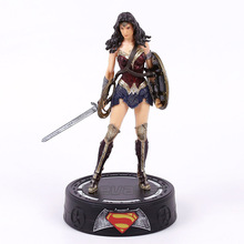 Play Arts KAI Batman v Superman The Dawn of Justice Wonder Woman PVC Action Figures Collectible Model Toys 22cm