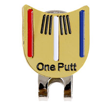 Hat Ball Aiming Outdoor Metal Golf Cap Clip Professional Tool Sports Decorated Accessories Magnetic Marker Training Removable