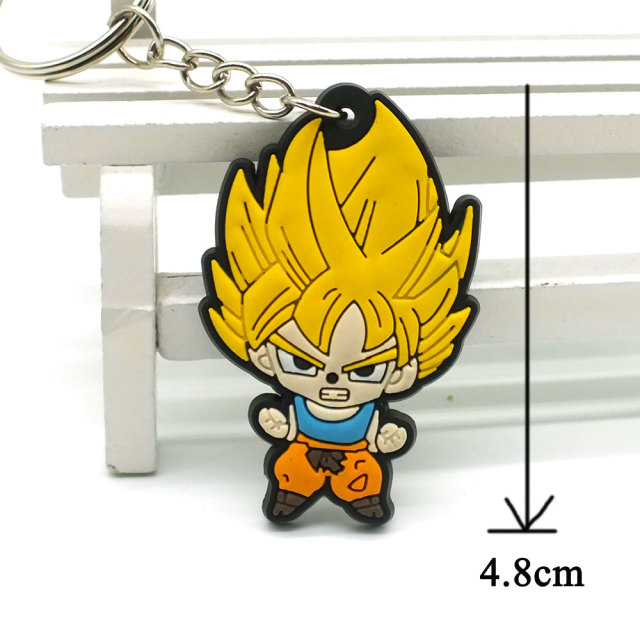 Dragon Ball Cartoon Key ring Luffy naruto