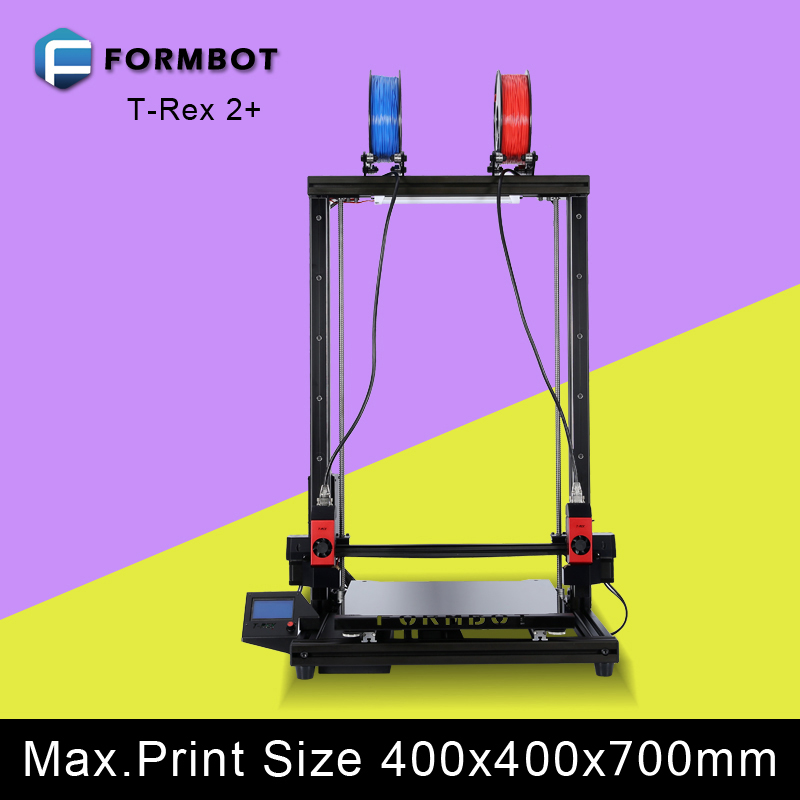 2017 new model 3d grande tamanho printer 4GB card large build size auto bed leveling with metal frame