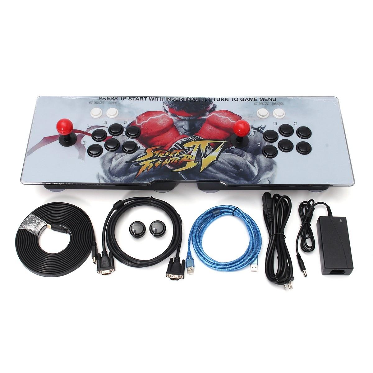 800 in 1 Retro Style Giochi Aracade Joystick Con 2 Giocatori doppio Joystick Gioco a Casa Acrade Console Classico Gioco Per PC Per TV