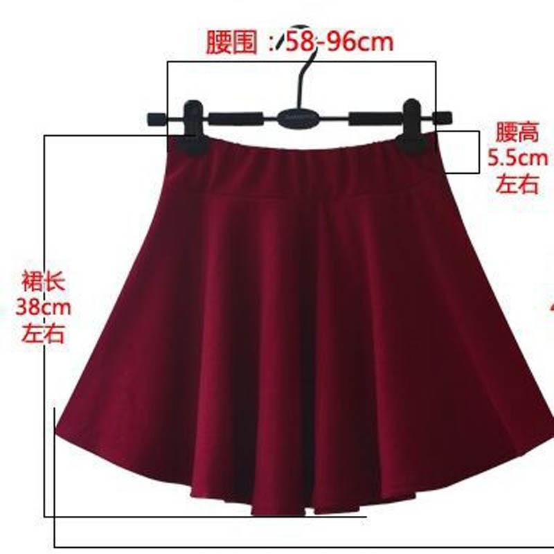 Nouveau Style Coréen Femmes A-ligne Jupe Plissée Mini Style De La - Vêtements pour femmes - Photo 5
