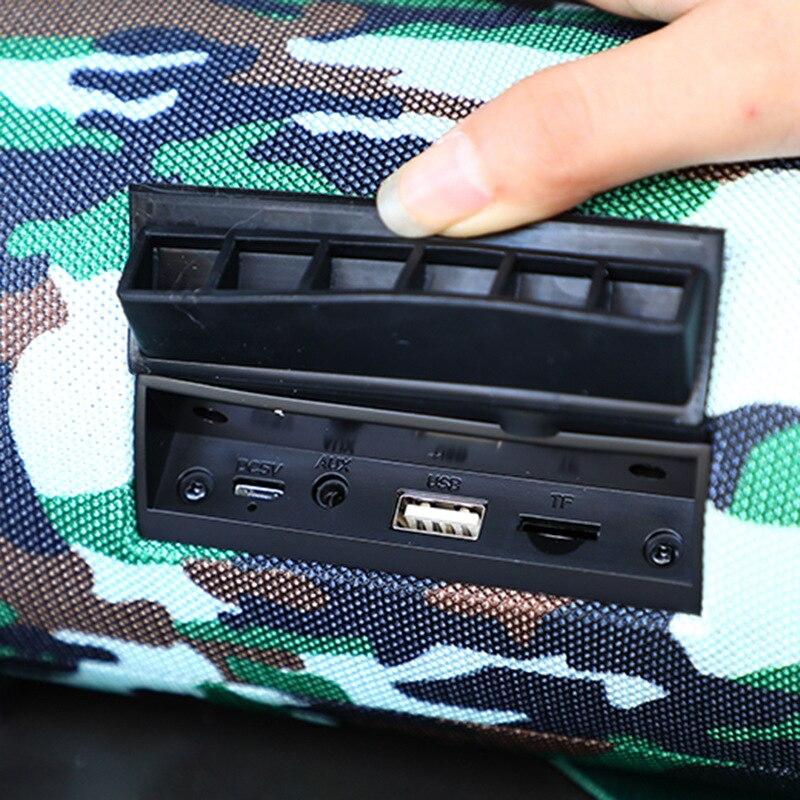 40W Bluetooth haut-parleur colonne sans fil portable boîte de son basse stéréo caisson de basses fm radio boom box tv tf aux usb barre de son pour PC - 3