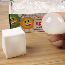 1pcs Anti stress Face Reliever tofu Autism Mood Squeeze Relief Healthy Toy Funny Geek Gadget for Men Halloween Jokes