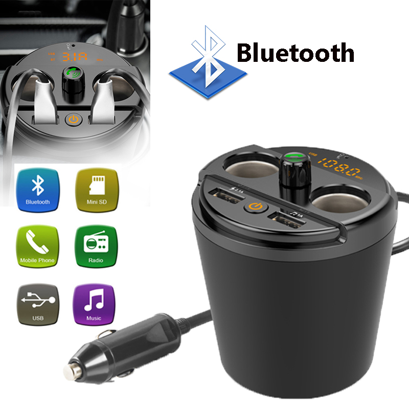car mp3 player music bluetooth Multi-Functional Lossless Audio Decoding Auto Kit fm transmitter car charger for mobile phone usb
