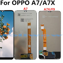 купить For OPPO A7 F9 A7X  LCD Display+Touch Screen+tools Digitizer Assembly Replacement по цене 1678.94 рублей