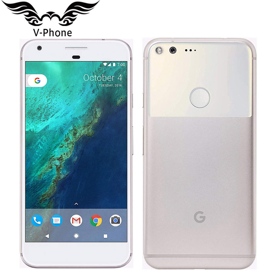 Original New 5.5 Inch Google Pixel XL 128GB Mobile Phone US Version Snapdragon 4GB 32GB 4G LTE Android Quad Core NFC Smartphone