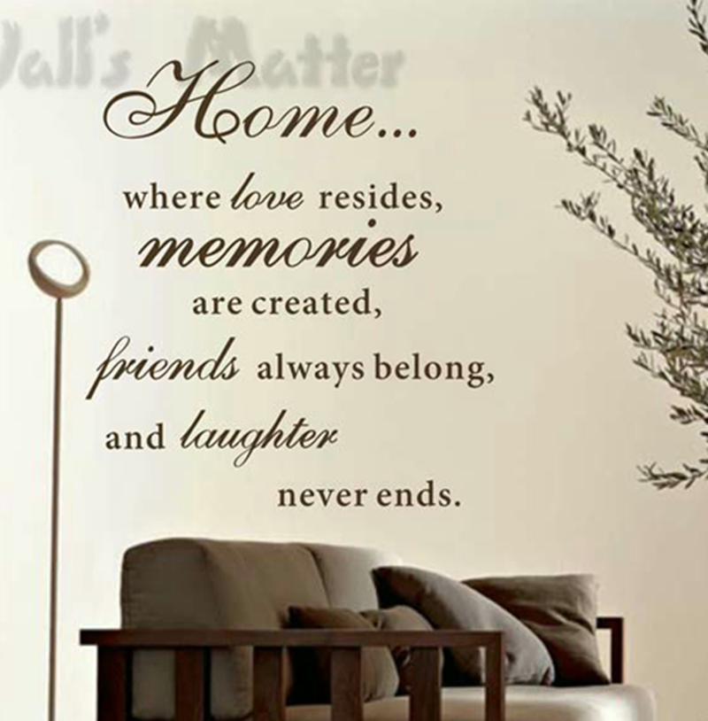 Large Size 80x60cm Free Shipping Home Love Resides Family