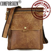 Genuine The First Layer Of Cow Leather Leisure Retro Men Messenger Bag 2017 Hot Brand Large