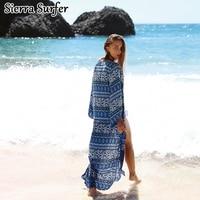Beach Swimwear Cover Up Women Rayon 4