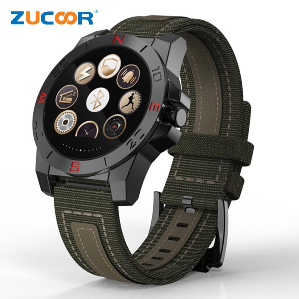 imágenes para Elegante Reloj de pulsera N10B Reloj Termómetro Altímetro Barómetro Del Ritmo Cardíaco Gimnasio Rastreador Smartwatch Para Android iOS Teléfono