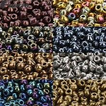 Fostfo 500 шт 4 мм 8 глубоких цветов хрустальные бусины чешский бисер стеклянные рассыпчатые бусины для изготовления ювелирных изделий Perles Berloque