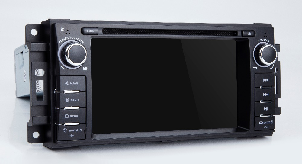 Best Android 8.1 Car DVD Player for JEEP COMMANDER/GRAND CHEROKEE  with Radio WiFi 21