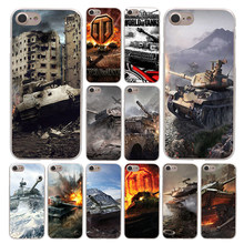 Lavaza Dunia Tank Ponsel Case untuk Apple Iphone 4 4S 5C 5S SE 6 6S 7 8 PLUS 10 X XR X Max 6Plus 7Plus(China)
