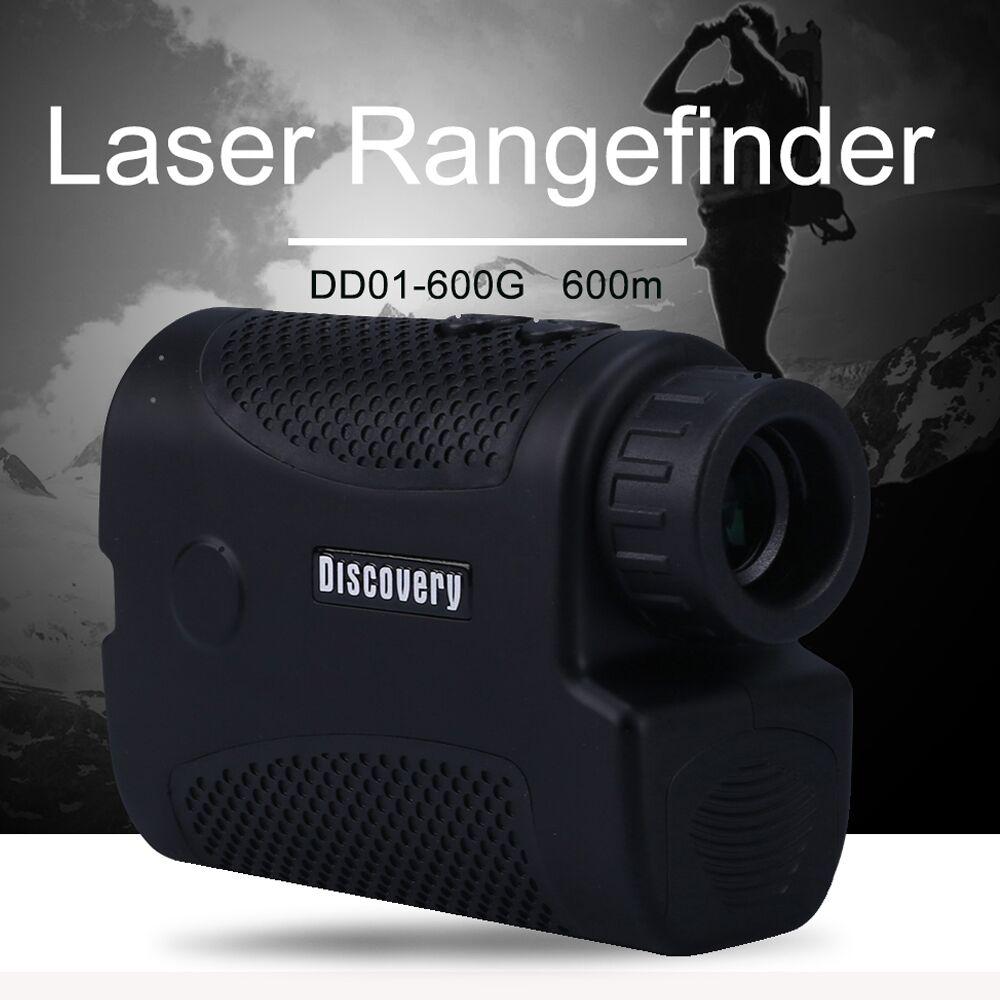 ELECALL laser telemetro laser telescopio distanza meter Digital 6X600 m caccia golf laser range finder misura di nastro di caccia