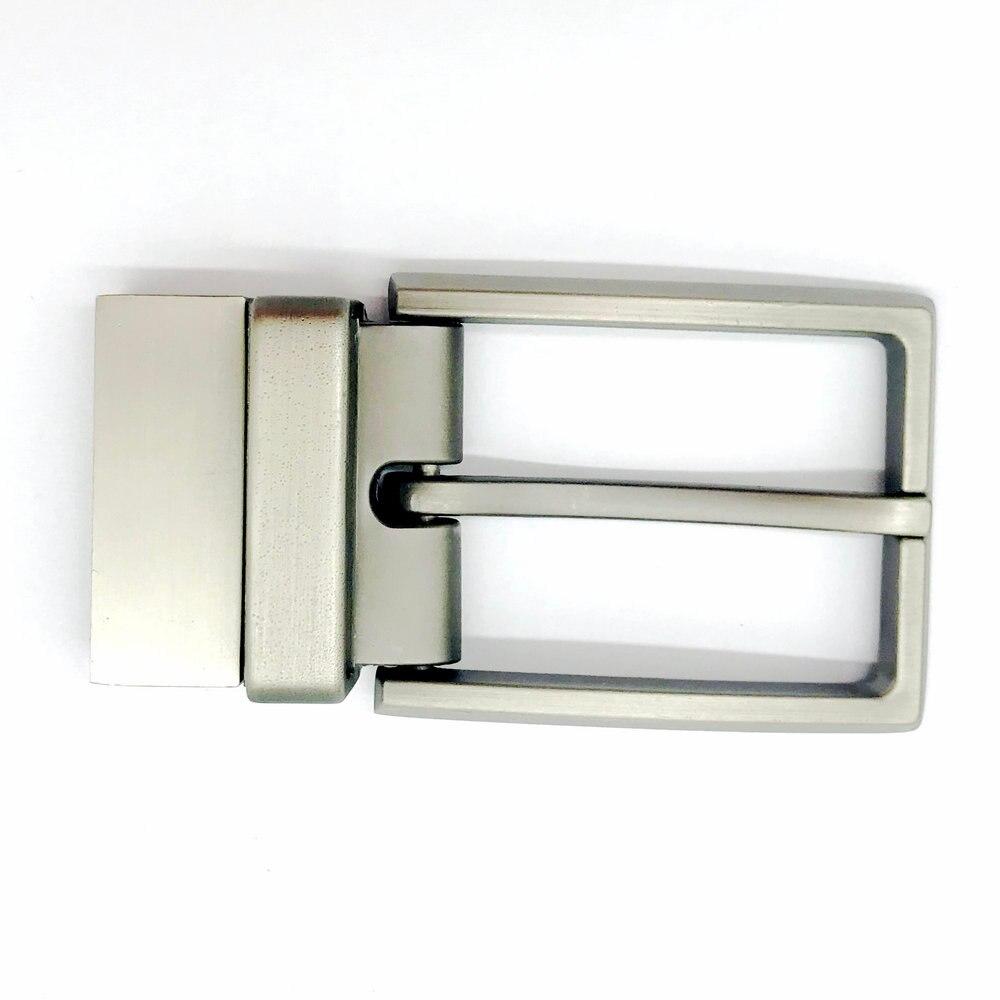 Men Can Reverse Pin Cutting Buckle Zinc Alloy Belt Buckle
