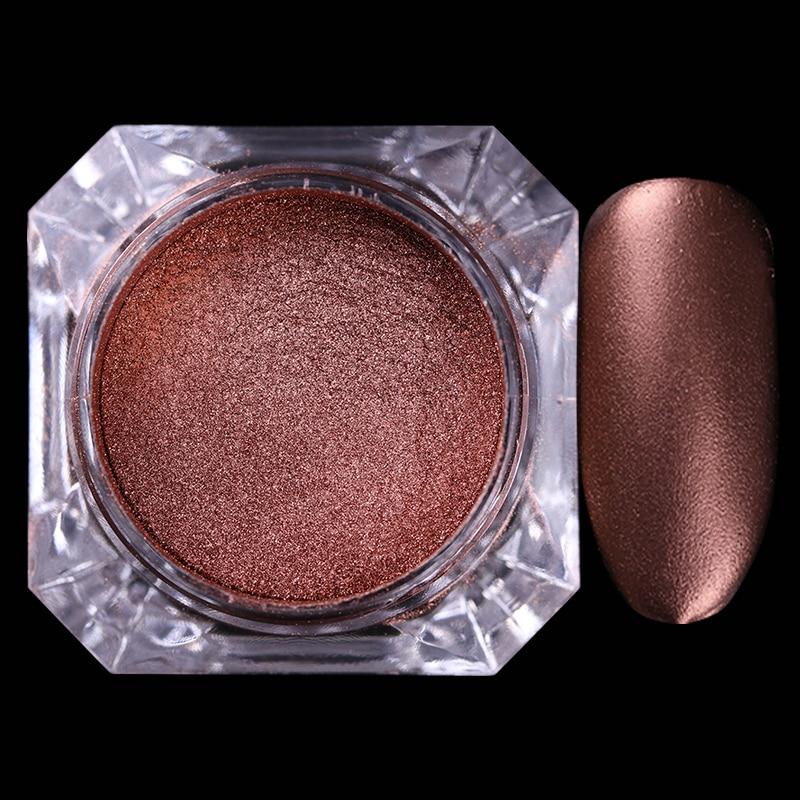BORN PRETTY 4 τεμ. Σοκολάτα Matte Nail Glitter - Τέχνη νυχιών - Φωτογραφία 2