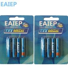 Ni-mh (600 мАч-900 мАч) AAA Батареи 1.2 В AAA Перезаряжаемые Батарея низкий саморазряд eaiep