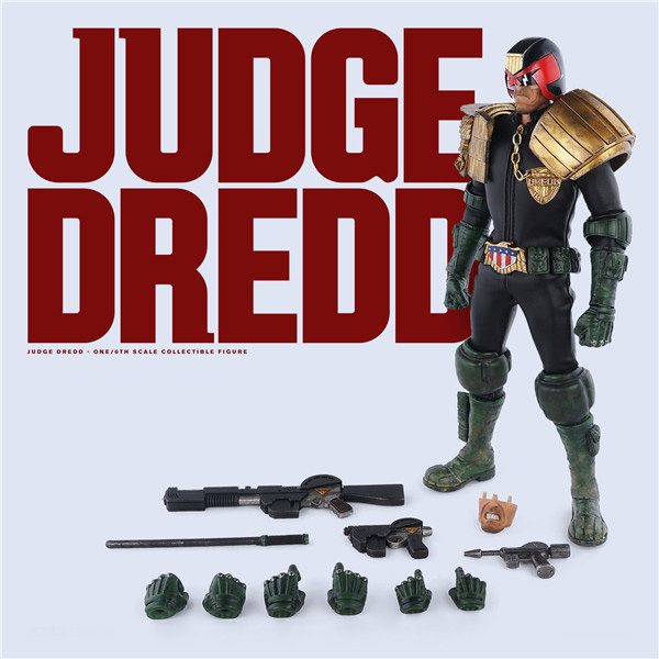 1/6th Scale Judge Dredd Collectible Action Figure Model Toys