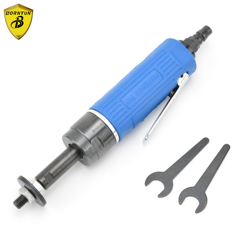 Borntun Pneumatic Air Die Grinder Straight 8-Angle Air Die Tool Edges Corners Poilshing Buffing Sanding 8-Petal Mold Mould Tools air die grinder mag 094n air tools max free speed 23 500rpm