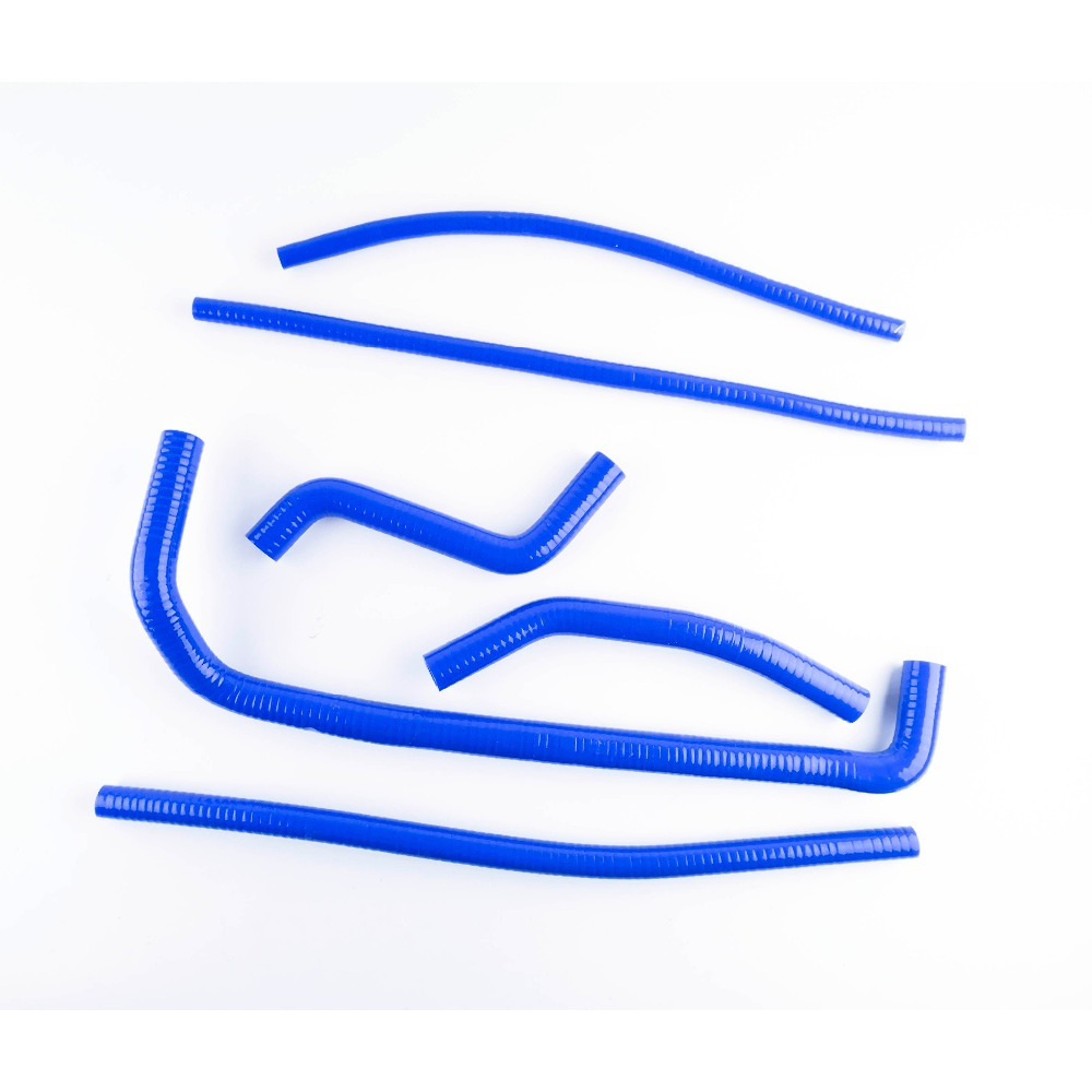 Silicone Radiator Hose For 2008-2011 Can-Am DS450 DS 450 Coolant Pipe Kits Blue