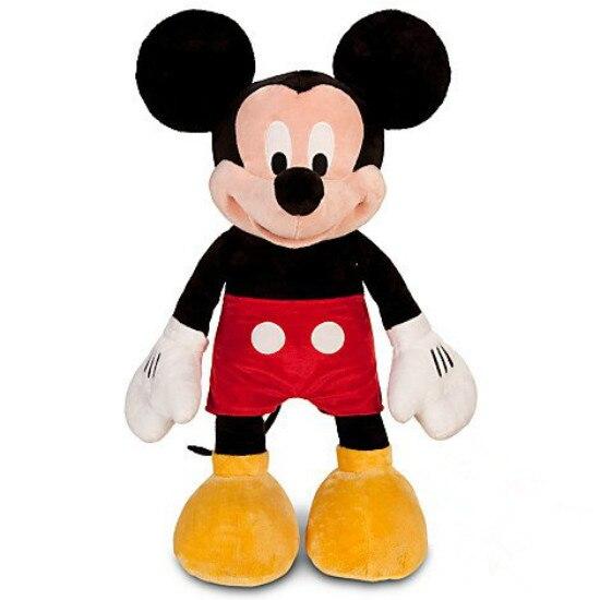 Original Big Mickey Mouse Soft Cute Kawaii Stuff Plush Toy Baby Birthday Christmas Gift 62cm
