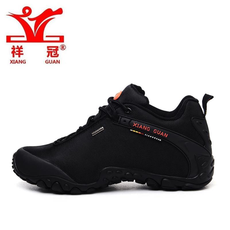 ФОТО XIANG GUAN Mens Sports Outdoor Hiking Sneakers Shoes For Men Sport Wearable Climbing Mountian Trekking Shoes Man ,EUR 39--44